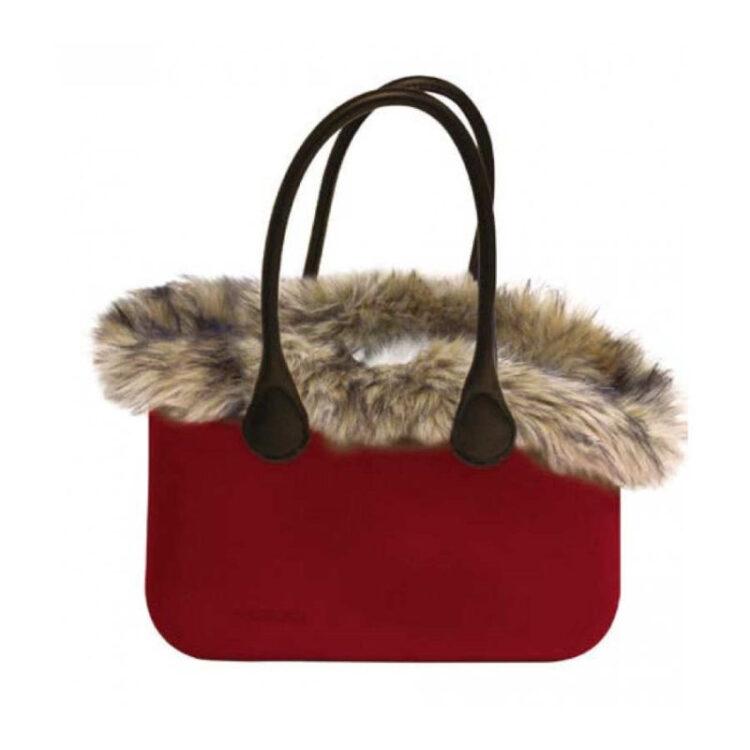 BAG MADEMOISELLE RED WINE 40X20X28cm