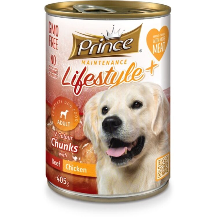 LIFESTYLE 2 COLORS DOG 405gr beef chicken