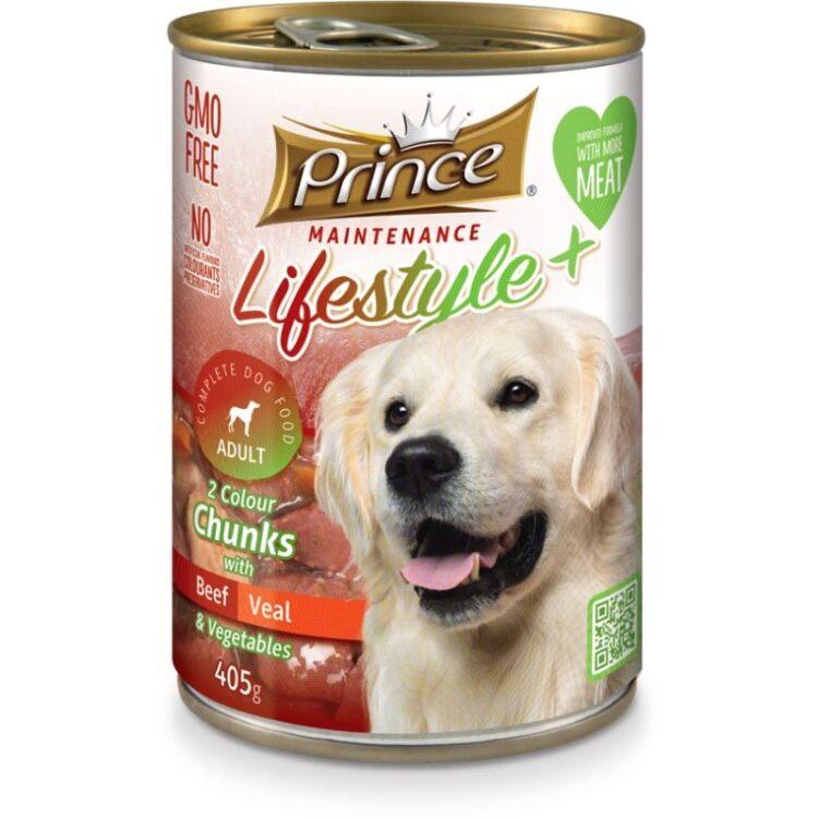 LIFESTYLE 2 COLORS DOG 405gr beef,veal,vegetables