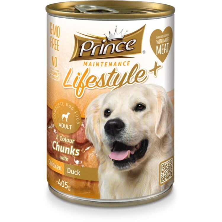 LIFESTYLE 2 COLORS DOG 405gr chicken,duck