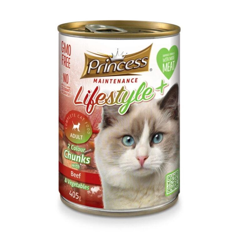 LIFESTYLE 2 COLORS CAT 405gr beef&vegetables