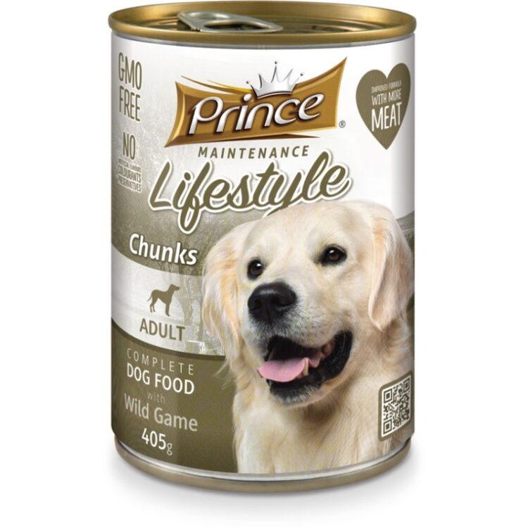 PRINCE DOG 405gr VEAL