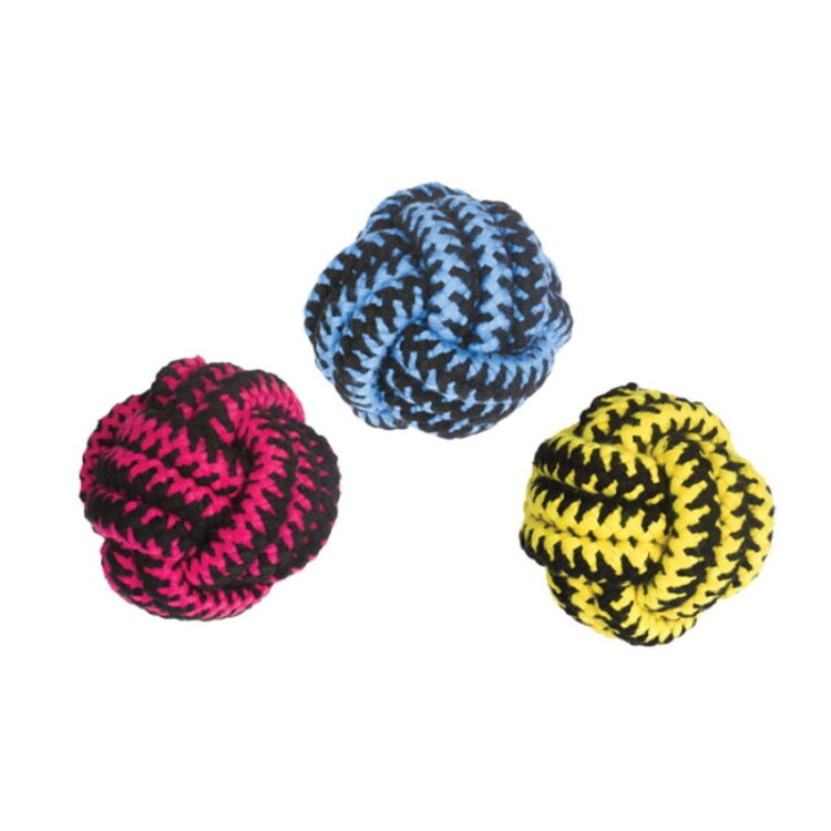 TWIST BALL PINK,YELLOW & BLUE 11CM