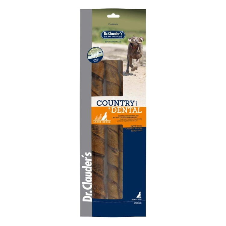 Dr.Cl-Country Dental Snack Duck - large breed 315 g
