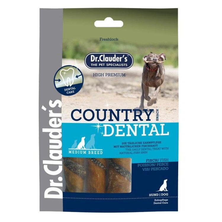 Dr.Cl-Country Dental Snack Fishskin-med breed 100 g
