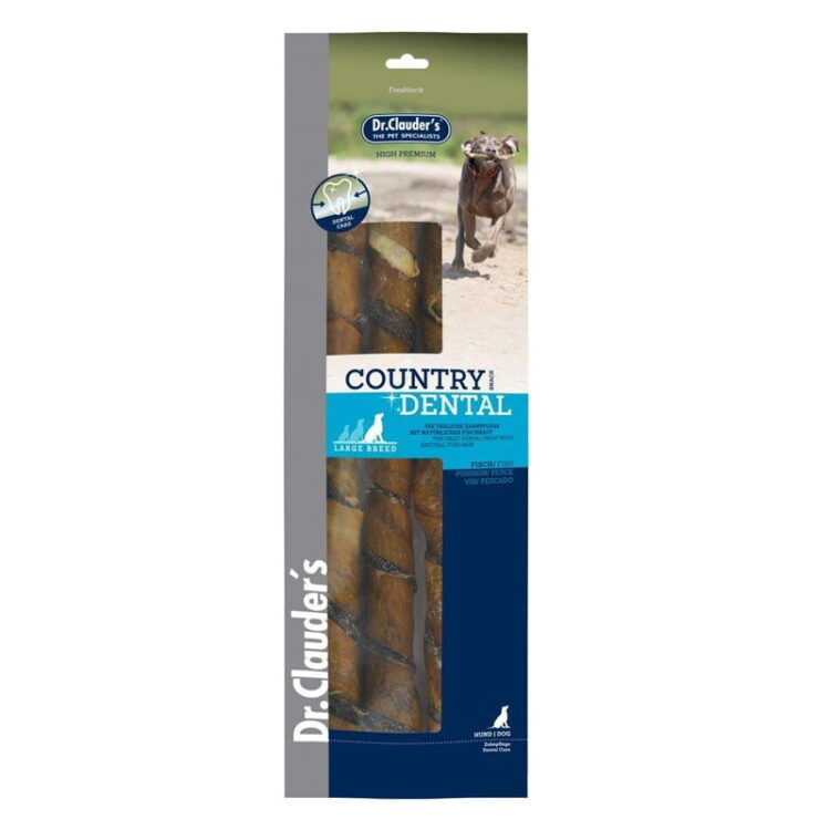 Dr.Cl-Country Dental Snack Fishskin-large breed 270 g