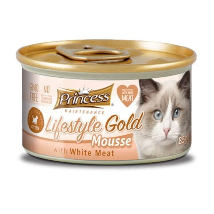 PRIN LIFEST GOLD MOUSE WHITE MEAT KITTEN 85g