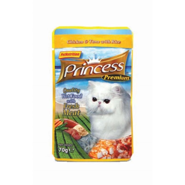 PRIN.POUCH 70gTUNA/CHICK RICE