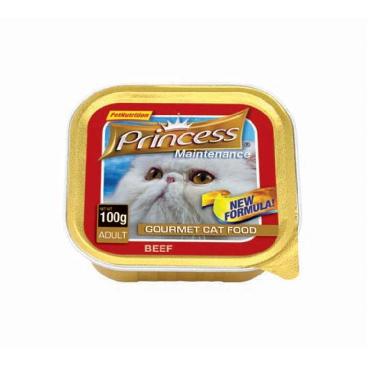 PRINCESS PATE CAT 100gr BEEF