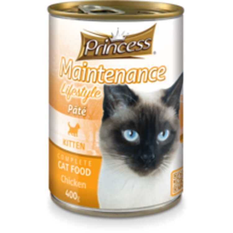 PRINCESS PATE CAT KITTEN CHICKEN 400GR