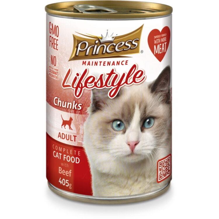 PRINCESS CAT 405gr BEEF