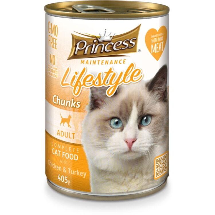 PRINCESS CAT 415gr CHICK N TURKEY