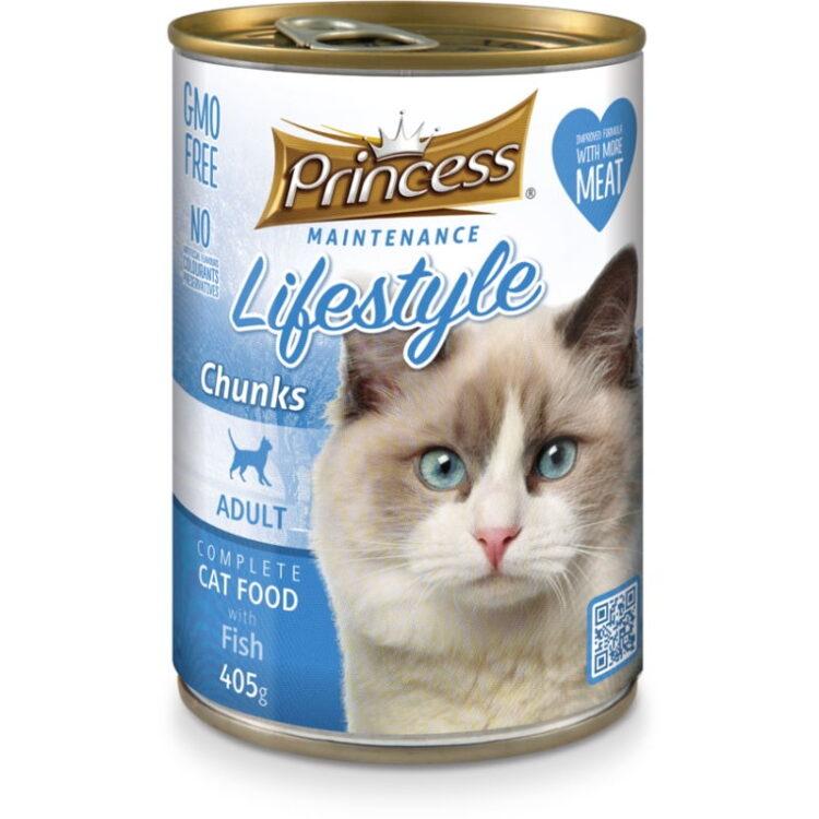 PRINCESS CAT 415gr FISH