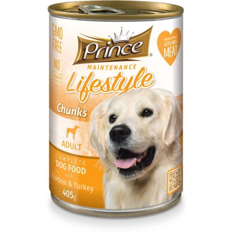 PRINCE DOG 405gr CHICK & TURKEY