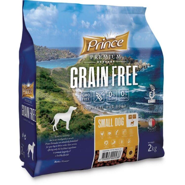 PRINCE DOG GRAIN FREE SMALL ADULT 2KG