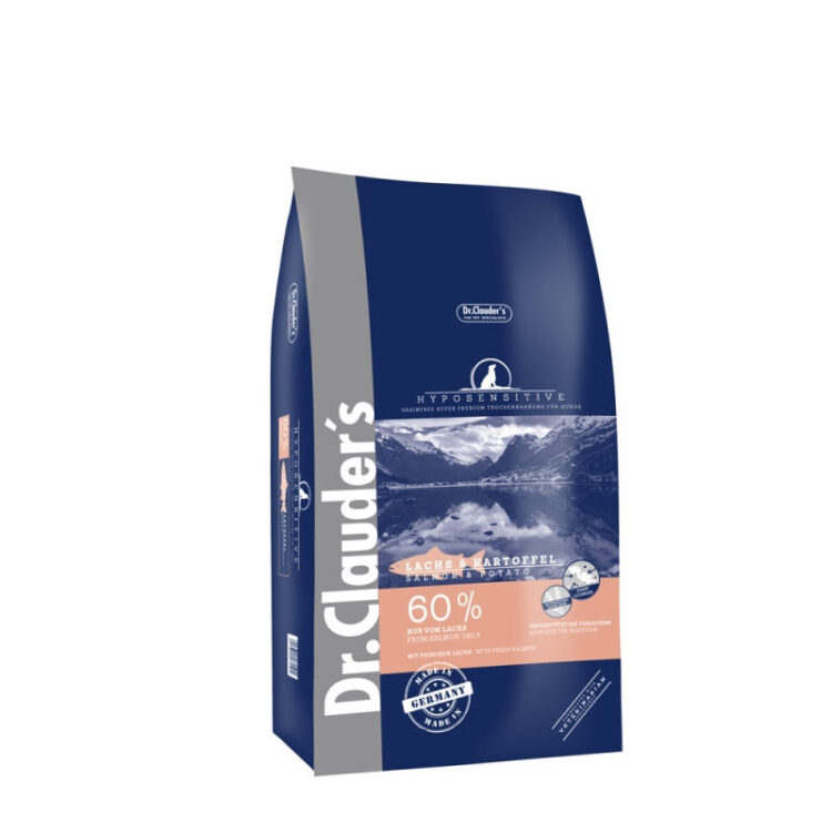 Dr.Cl-G.F.- HYP. Salmon & Potatoes ALL BR. 11,5 kg