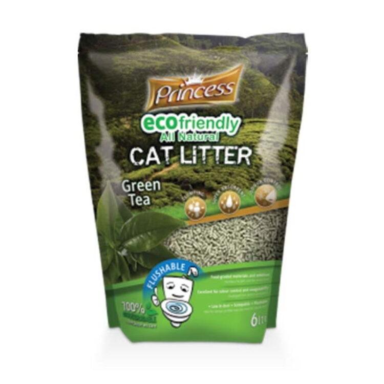 PRINCESS ECO LITTER 6L-GREEN TEA