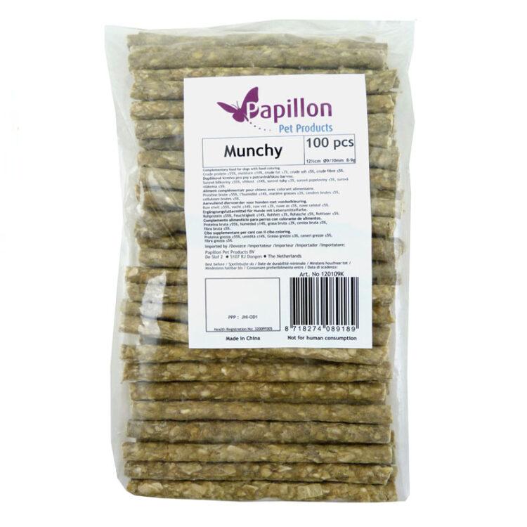 100 sticks munchy mix 12½ cm, O 9/10 mm, 8-9 g